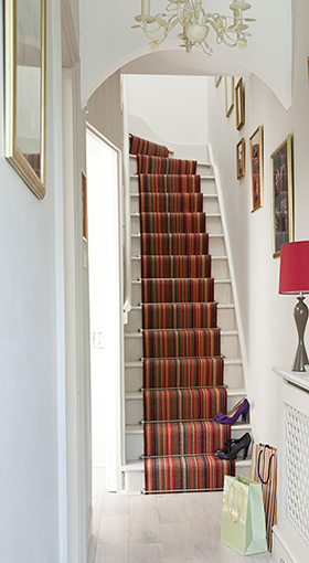 Up Your Stripes With A Stair Runner By Louis De Poortere