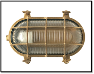 Solid Brass Exterior Lighting From Old School Electric