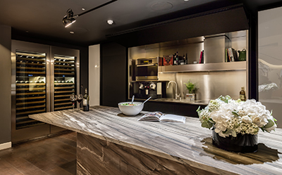 Crestron s london showroom redesigned for aw16 interior bulletin for Exquisite kitchen design south lyon